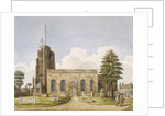 Church of St Mary, Acton, Ealing, London by Anonymous