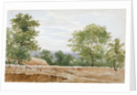 View from the excavations of Highgate Tunnel, London by