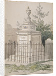 William Hogarth's tomb in St Nicholas' churchyard, Chiswick, Hounslow, London by