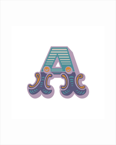 Letter A (White background) by Magnolia Box