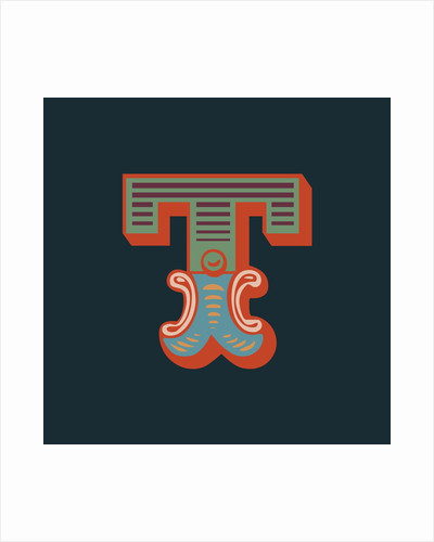 Letter T (Dark background) by Magnolia Box