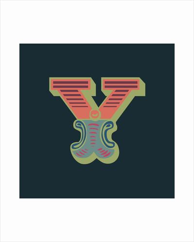 Letter Y (Dark background) by Magnolia Box