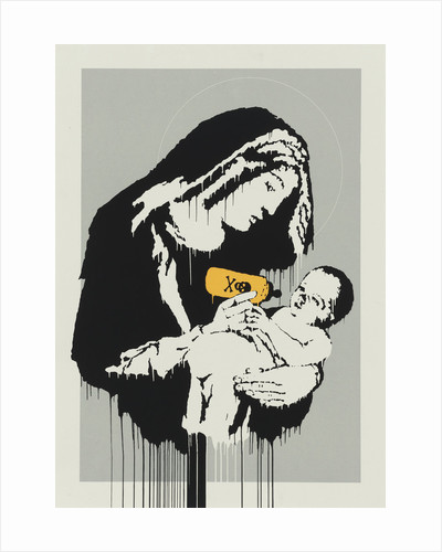 Virgin Mary by Banksy