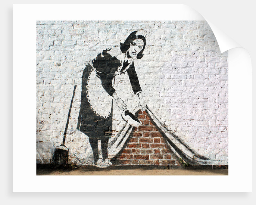 Street Cleaner by Banksy