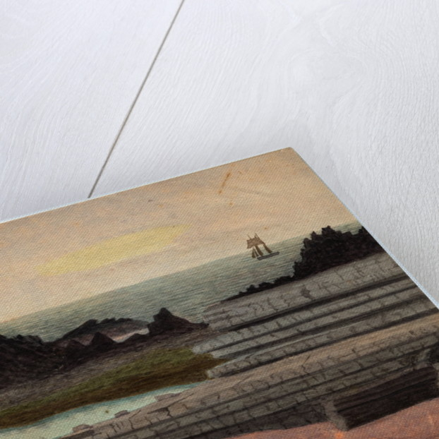 Cone of an Extinct Volcano, Scarlett by Robert Evans Creer