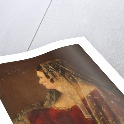Portrait of Lady Hillary of Fort Anne by Anonymous