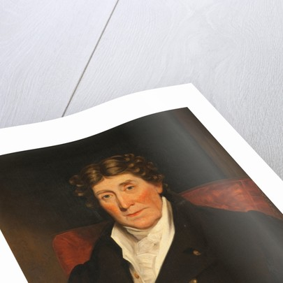 Portrait of Cornelius Smelt, Lieutenant Governor of the Isle of Man by Thomas Barber