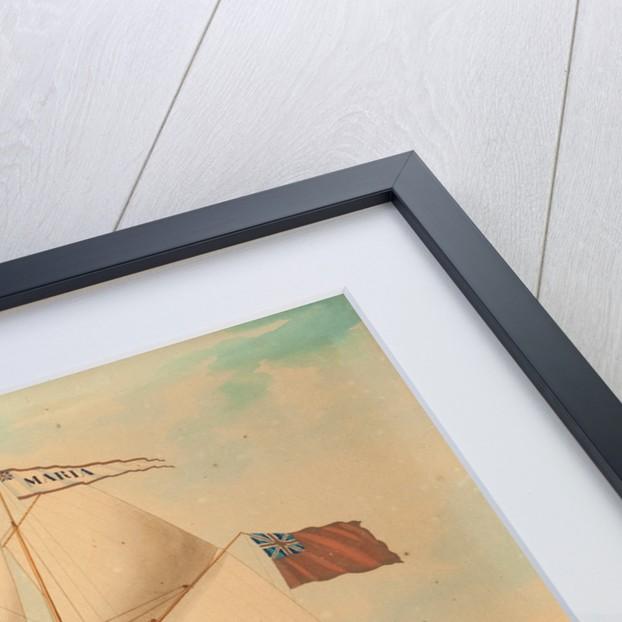 The Schooner Maria by Lewis Renault