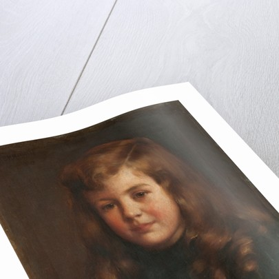 Portrait of a boy by Robert Edward Morrison