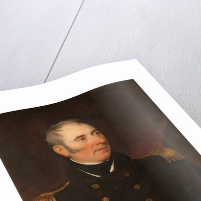 Portrait of Captain John Quilliam by Henry Barber