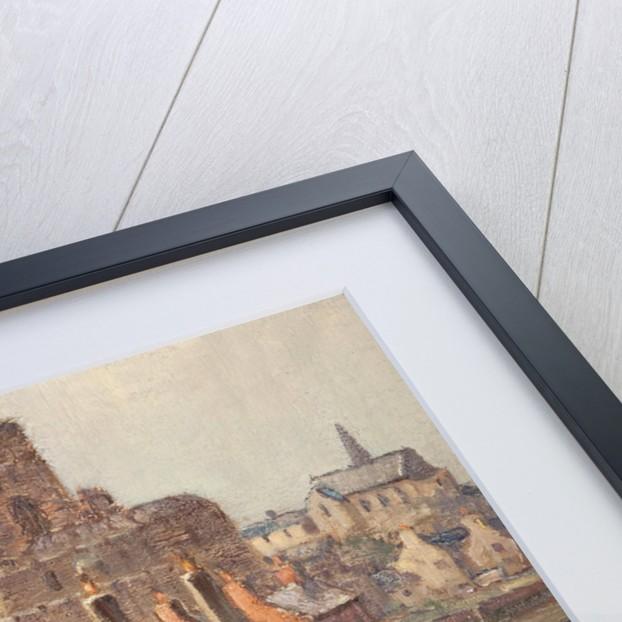 Castle Rushen from Bridge House by William Hoggatt
