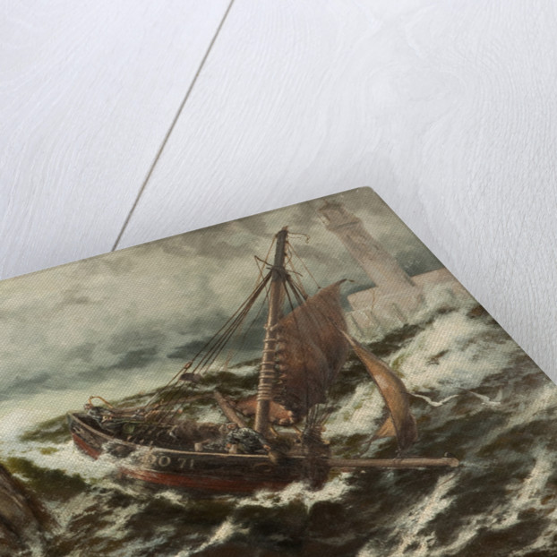 Safe thro' the storm by Thomas Rose Miles