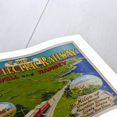 The Manx Electric Railway for Snaefell and Ramsey by Richard Johnson