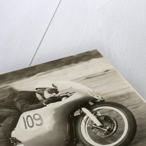 TT (Tourist Trophy) rider by T.M. Badger