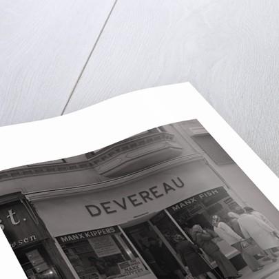 Devereau's Fish Shop by Manx Press Pictures