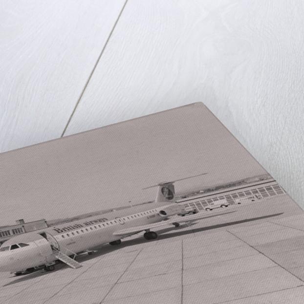 British Airways plane, Ronaldsway Airport by Manx Press Pictures