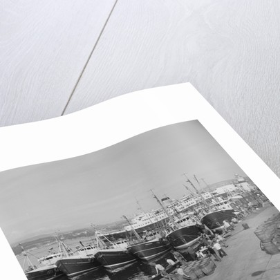 Fishing boats in Douglas Harbour by Manx Press Pictures