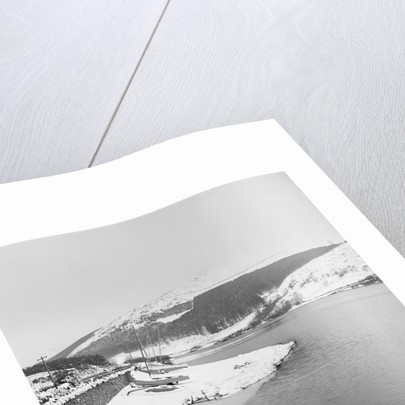 Snow, Baldwin Reservoir by Manx Press Pictures