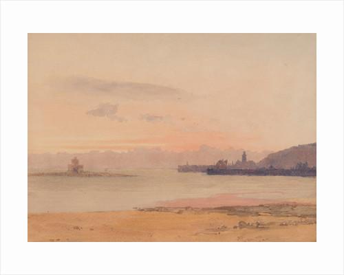 Pink sunrise, Douglas by John Miller Nicholson