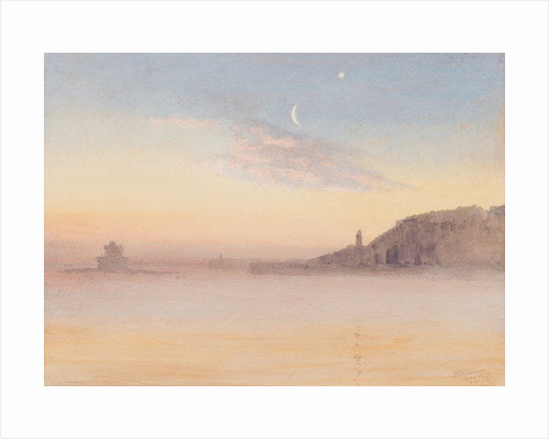 Calm winter morning, Douglas by John Miller Nicholson