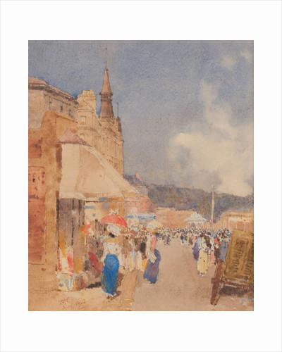 A summer day, Marina Road, Douglas by John Miller Nicholson