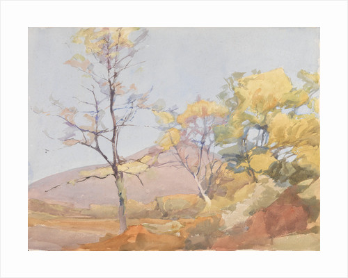 A Spring Landscape by Archibald Knox