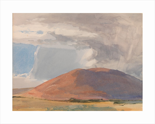 Greeba Mountain: Sunlight and Rain Storm by Archibald Knox