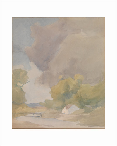 Watercolour by Archibald Knox by Archibald Knox