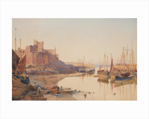 Peel Harbour mouth by John Miller Nicholson