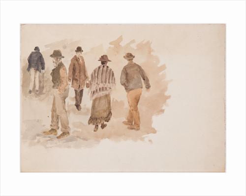 Study of five figures by John Miller Nicholson