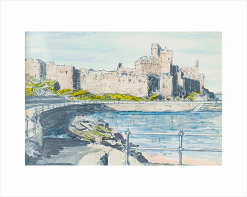 Peel Castle by Harold H. Cresswell