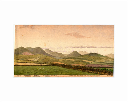 The Northern Mountains from St Marks by Robert Evans Creer