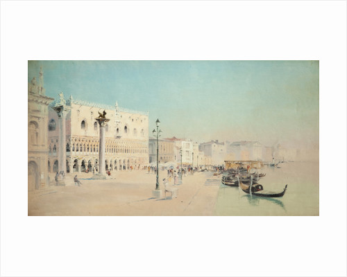 The Doges Palace, Venice by John Miller Nicholson