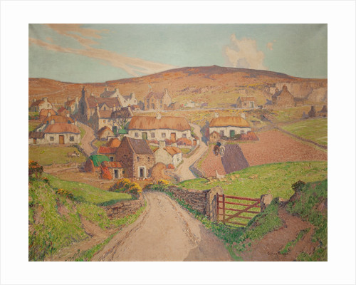 The ancient village of Cregneash by William Hoggatt
