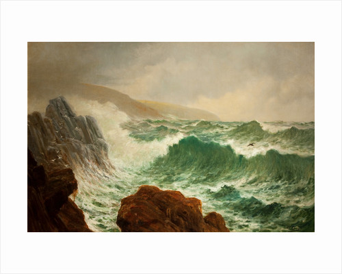Clay Head seascape by Edward Christian Quayle