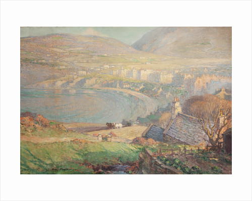 View across Port Erin Bay by William Hoggatt