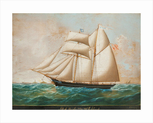Schooner 'Jilt' by William McIlvenney