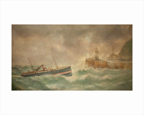 Isle of Man Steam Packet Co Vessel 'Douglas III' by J. E. Tate
