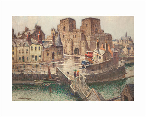 Castle Rushen from Bridge House by William Hoggatt