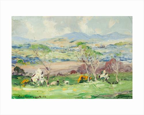 Spring landscape, Isle of Man by William Hoggatt