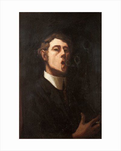 Young Man (possible self portrait) by William Hoggatt