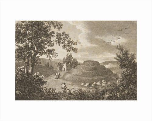 Tynwald Hill (Isle of Mann) by George Cooke