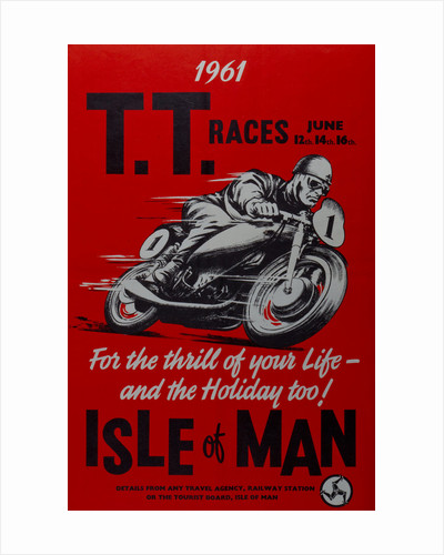 1961 TT races Isle of Man by Anonymous