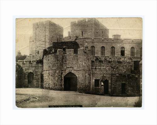 Castle Rushen Gatehouse by Anonymous