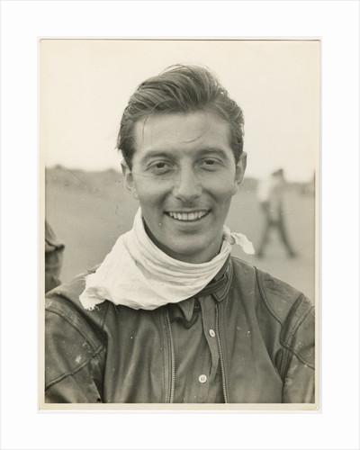 Bill Lomas, 1955 TT (Tourist Trophy) by T.M. Badger