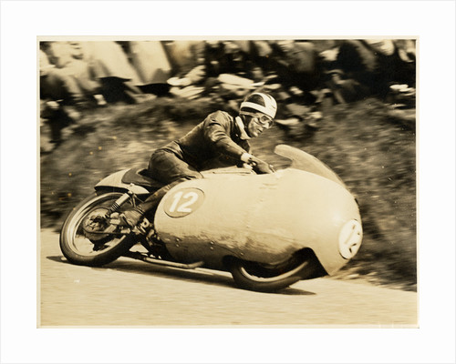 Bill Lomas, TT (Tourist Trophy) rider by T.M. Badger