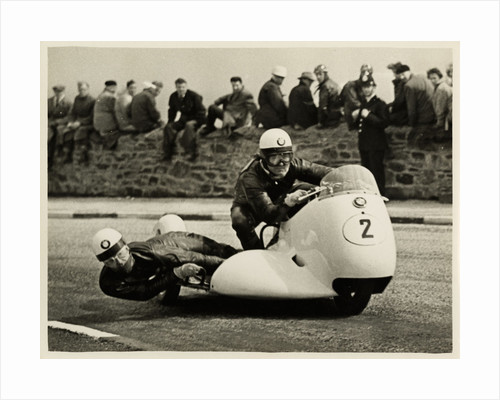 TT (Tourist Trophy) BMW sidecar outfit (number 2) by T. M. Badger
