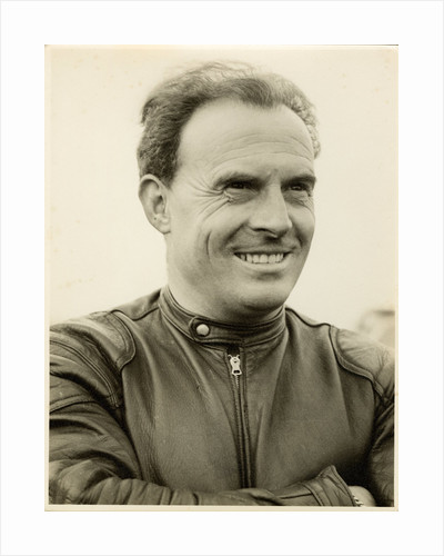 Bill Boddice, TT (Tourist Trophy) sidecar driver by T.M. Badger
