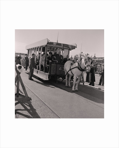 Horse tram season opens by Manx Press Pictures
