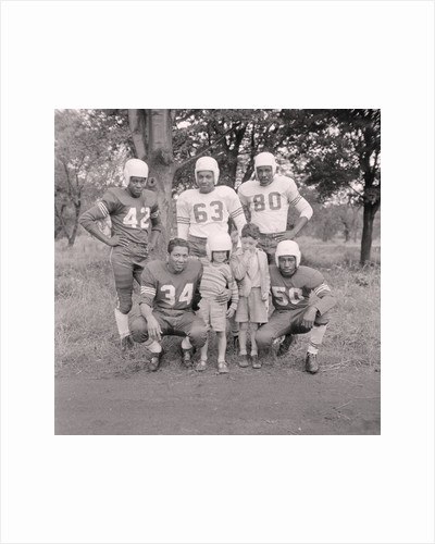 American football team by Manx Press Pictures